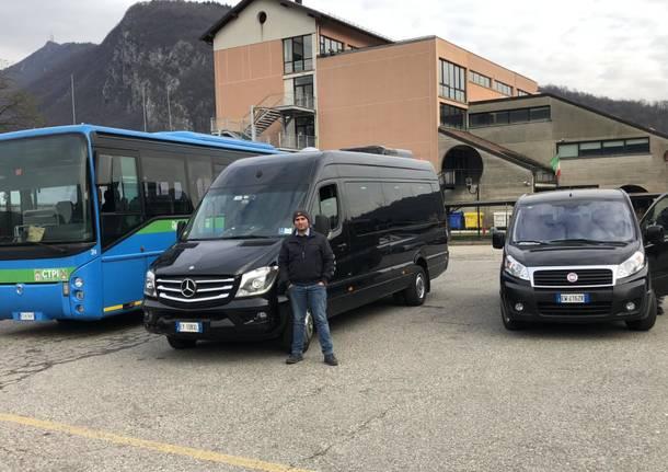 Cuasso al Monte: navette al lavoro per garantire il trasporto pubblico