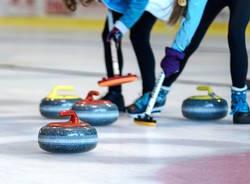 curling sport ghiaccio