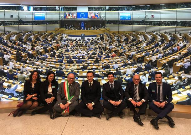 delegazione sestese a bruxelles per sesto comune europeo dello sport