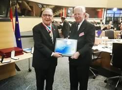 Edoardo Zin premiato a Bruxelles