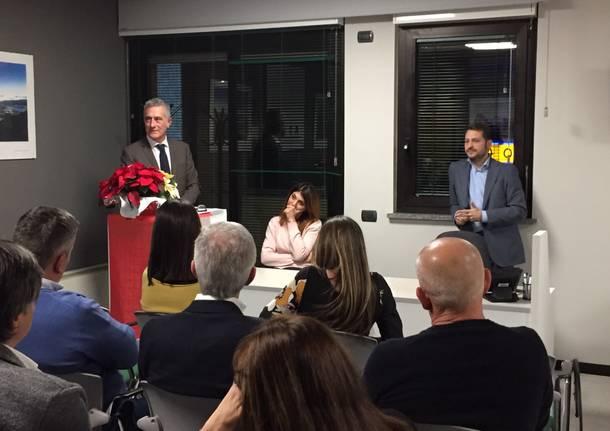Emanuele Monti in visita a malpensa Med