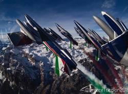 frecce tricolori val badia