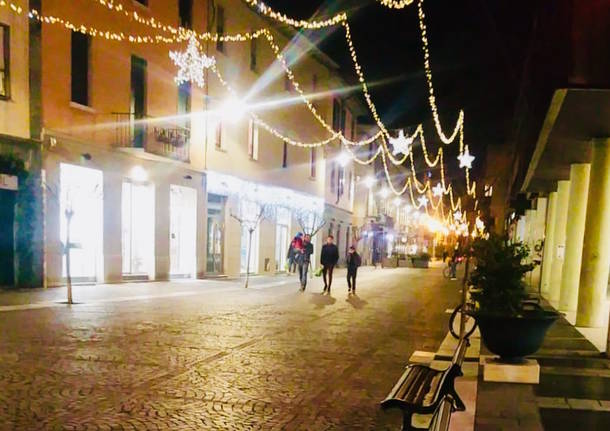 Corso italia e piazza avis nuova illuminazione pubblica