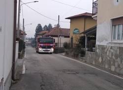 Incendio pizzeria a Besnate