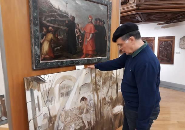 L'atelier d'artista di Arcadio Lobato