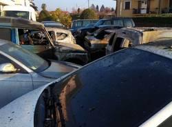 Marchirolo - Incendio carrozzeria dicembre 2018