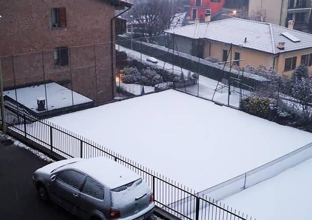 La neve del 19 dicembre