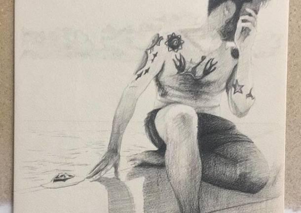 Le opere di Vincenzo Ferrara in mostra nello studio di Angelo Mosca