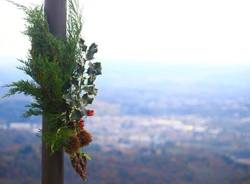 Sacro Monte: i preparativi per le luci di Natale