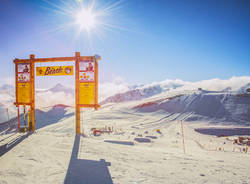 THE BEACH – FUNSLOPE livigno carosello 3000