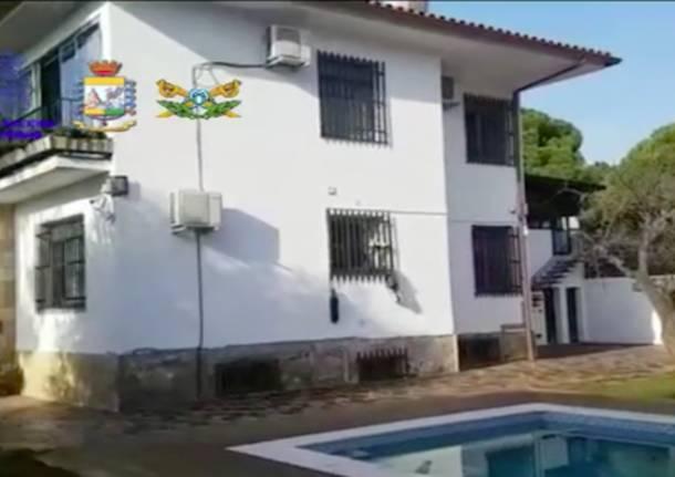 villa boss cocaina varese
