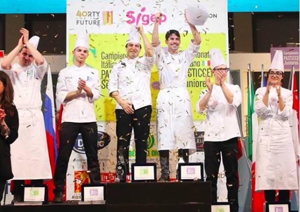 Andrea Buosi campione italiano Juniores di Pasticceria