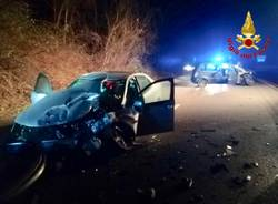 Incidente stradale a Gavirate