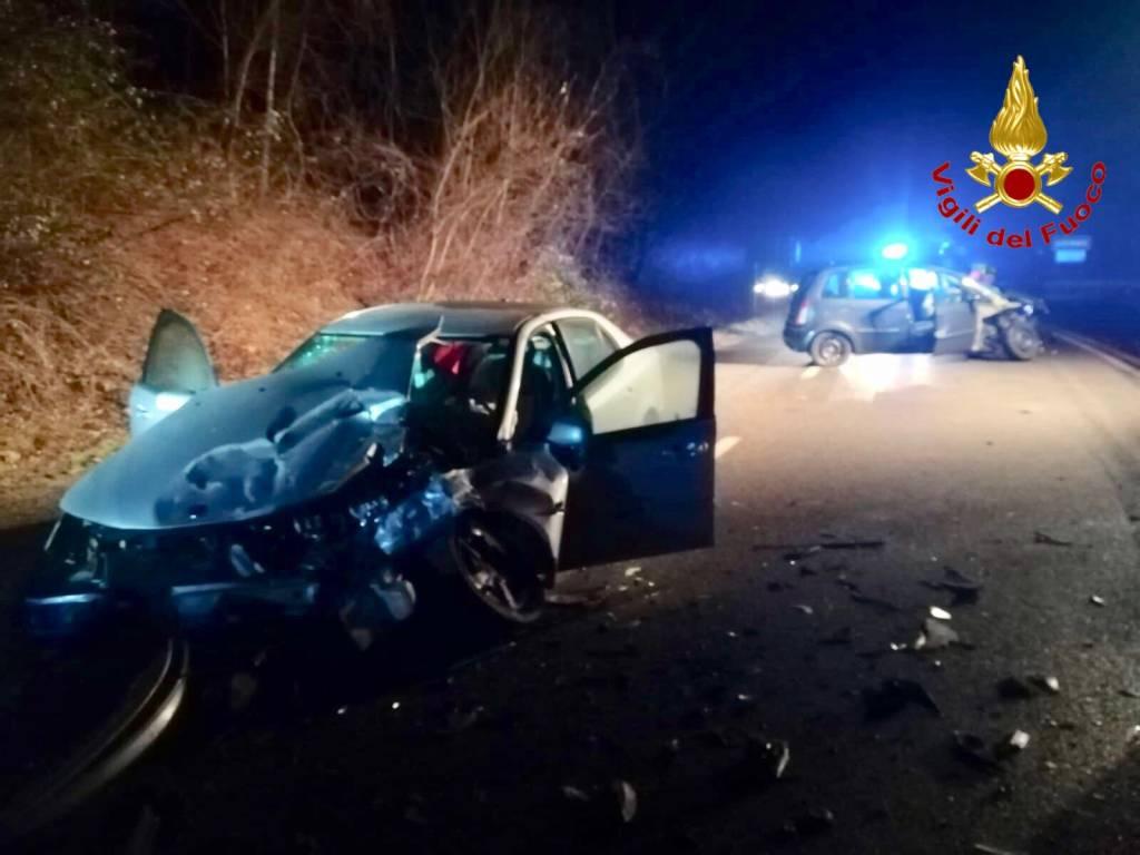 Incidente stradale a Gavirate