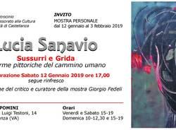 Lucia Sanavio - Sussurri e grida: le forme pittoriche del cammino umano