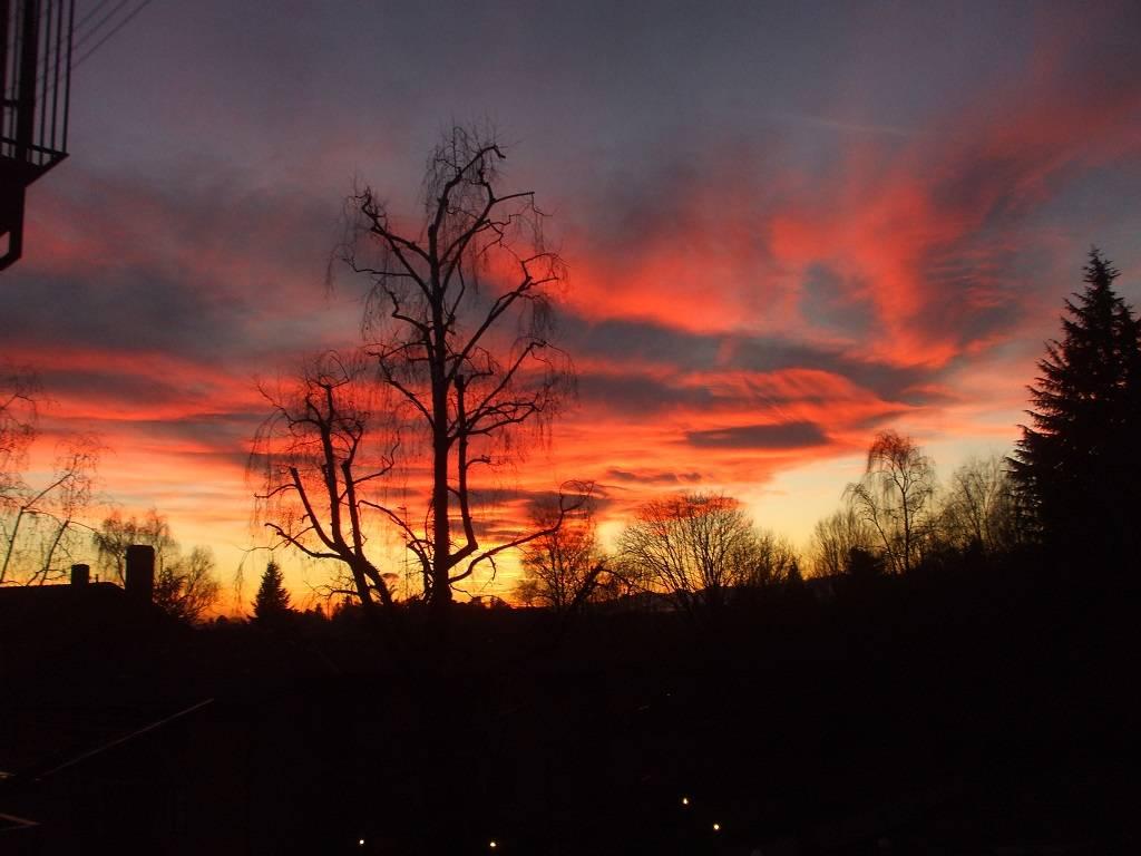Un altro tramonto invernale...