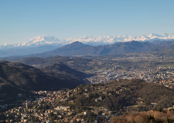 Panorama da Brunate