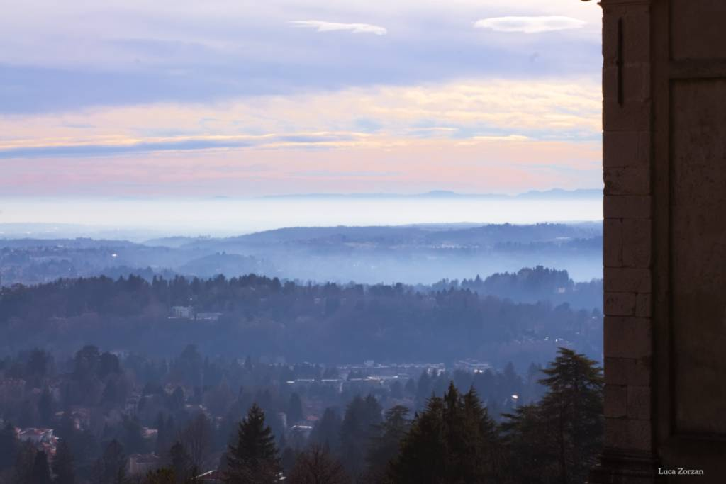 Vista dal S. Monte di varese