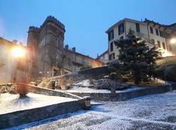 Il primo velo di neve del 2019 al Sacro Monte