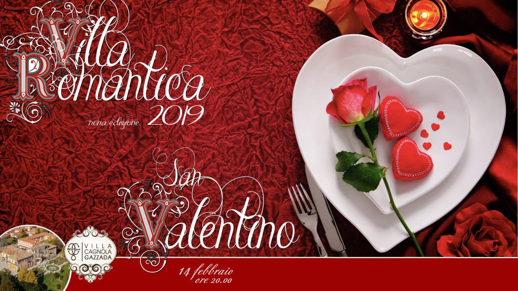 Cena di San Valentino - Villa Romantica 2019