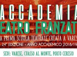 Accademia Teatro Franzato, 24^ edizione, Laboratorio Ragazzi 2019 al Teatro di Cuasso al Monte