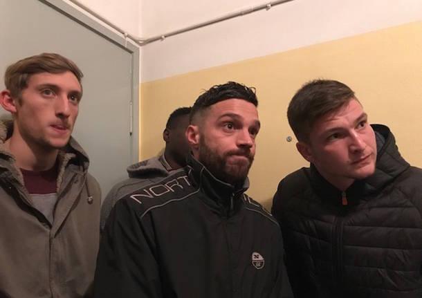 crisi varese calcio gennaio 2019 benecchi giocatori