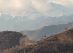 Elisoccorso in azione sul monte chiusarella