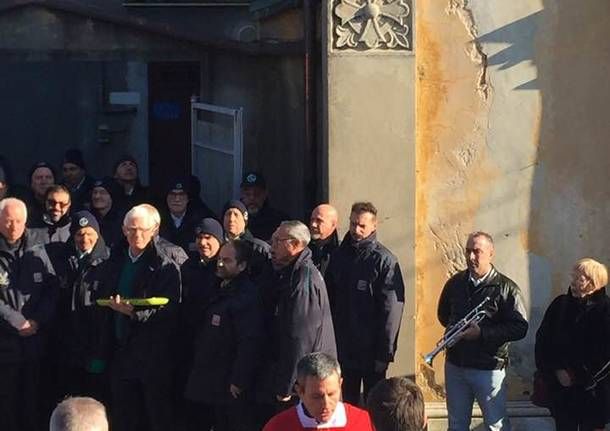 Bregazzana (e i vigili) in festa per San Sebastiano