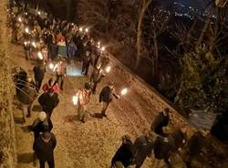 fiaccolata caduti russia sacro monte varese