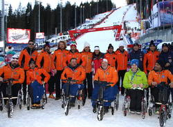 freerider sport events sci disabili