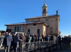 Funerale Maurizio Lovato