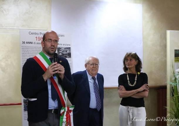 Giuseppe Zamberletti a Induno Olona - foto di Luca Leone