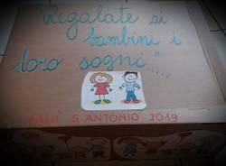 I desideri dei bambini della scuola Canetta nel Falò di Sant'Antonio
