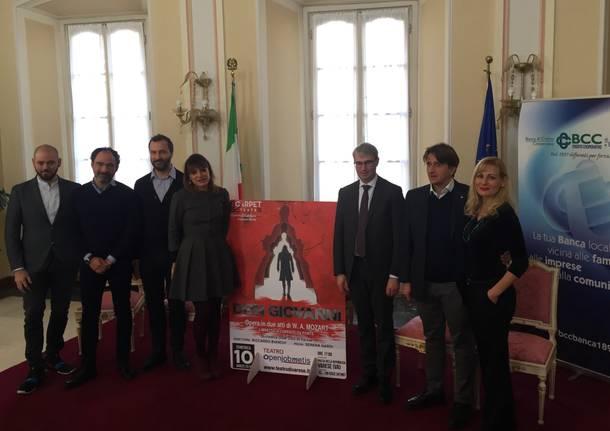 Il Don Giovanni fatto a Varese