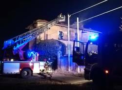 incendio cascina burattana