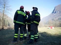 Incendio Monte Martica, le foto di Daniele Venegoni