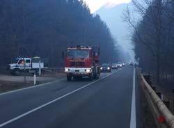 Incendio Monte Martica, le immagini di sabato - 2