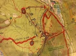 Incendio Monte Martica martedì 8 gennaio