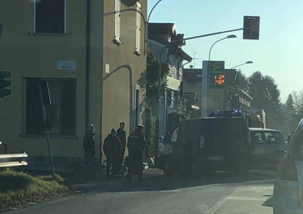 Incidente gavirate verbano gennaio 2019