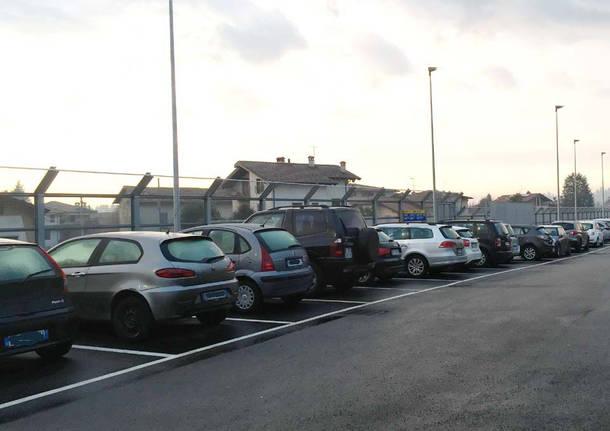 Induno Olona - parcheggio stazione