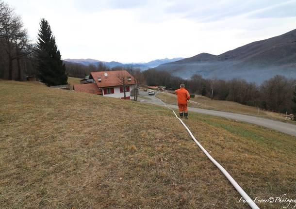 L'acqua della fattoria che ha aiutato a spegnere l'incendio