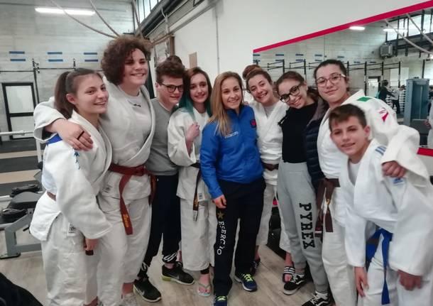 odette giuffrida pro patria judo
