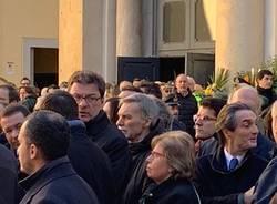 Politici, sindaci e personaggi pubblici al funerale di Giuseppe Zamberletti