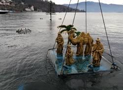 Presepe Sommerso, la rimozione del lago