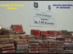 sequestro cocaina guardia di finanza barcellona