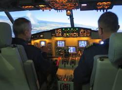 Simulatore di volo Canadair Malpensa