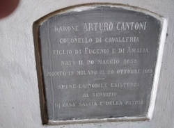 Tomba Cantoni devastata Gallarate