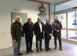 Tradate - Bonelli visita l'ospedale Galmarini