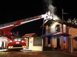 Vedano Olona - Incendio