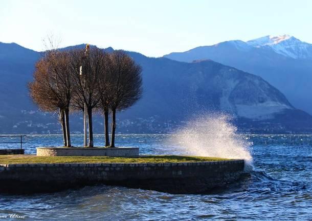 Vento sul Lago Maggiore - foto di Ulisse Piana